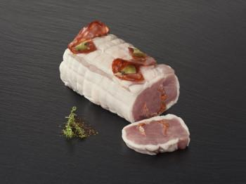 Rôti de porc au Chorizo Merguez