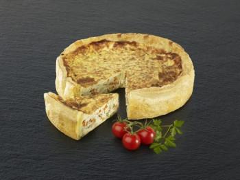 Tarte Noix de St-Jacques et Petits Légumes