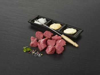 Viande à fondue de bœuf «Tende de tranche»